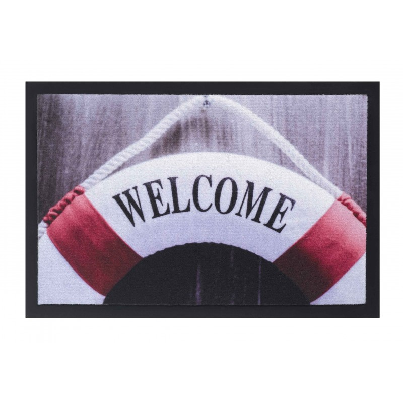 Tapis Personnalise Bouee Welcome Personnalises