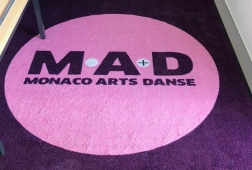 TAPIS LOGO DIMENSIONS STANDARDS - VISUEL MONACO