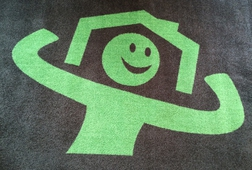 TAPIS LOGO - GREEN HOME - FR